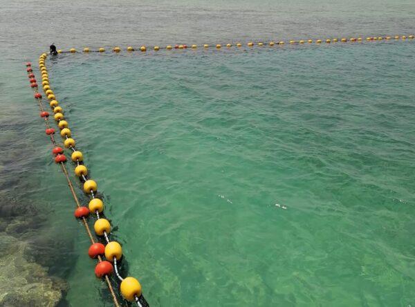 شبك حماية ضد هجمات القروش والأسماك